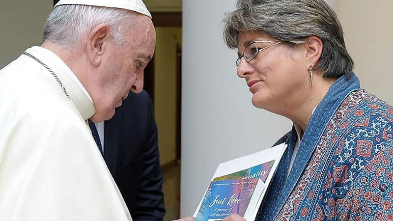 Jayne Ozanne meets the Pope